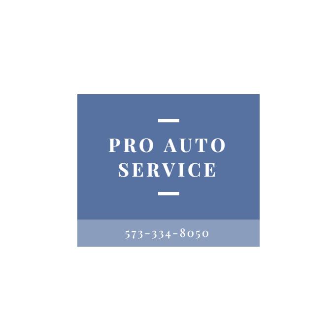 Pro Auto Service: 200 S Kingshighway St, Cape Girardeau, MO