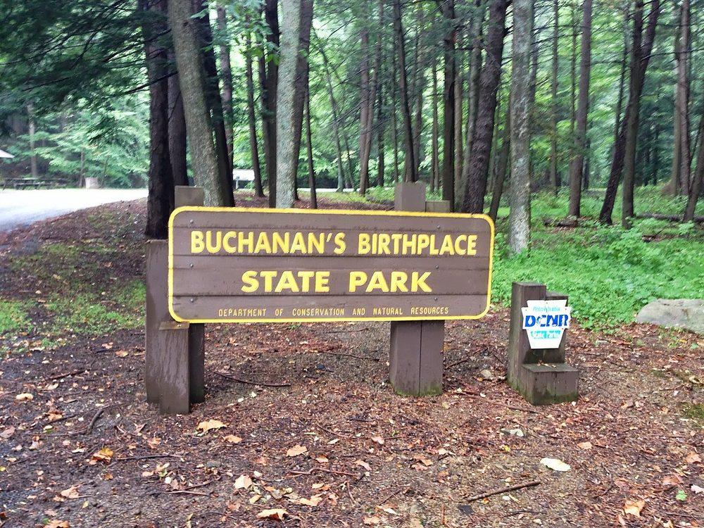 Buchanan's Birthplace State Park: Stoney Valley Rd, Mercersburg, PA