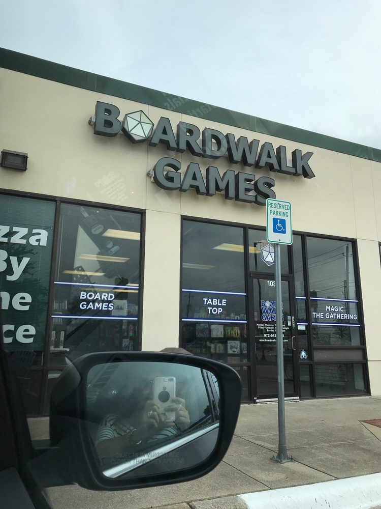 Boardwalk Games: 18110 Midway Rd, Dallas, TX