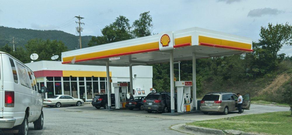 Shell: 5230 N Fork Rd, Elliston, VA