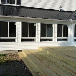 Photo Of Merrell Home Improvement Clarksville Tn United States Enclose Existing Deck