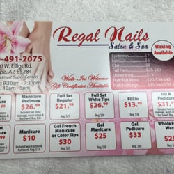 Photo Of Regal Nails Tempe Az United States This Was The Special
