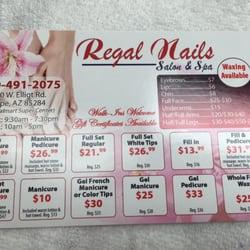 regal nails 17 reviews nail salons 1380 w elliot rd tempe az