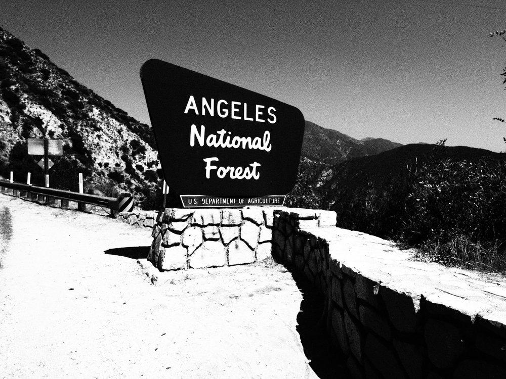 Angeles Crest Highway: Angeles Crest Highway Hwy 2, La Canada, CA