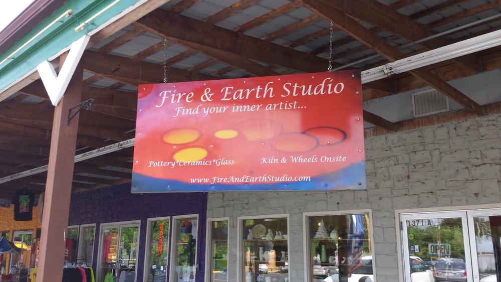 Fire and Earth Studio: 1371 A Bagnell Dam Blvd, Lake Ozark, MO