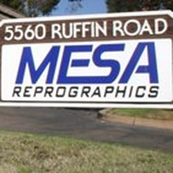 Mesa reprographics 15 reviews printing services 5560 ruffin rd photo of mesa reprographics san diego ca united states malvernweather Gallery