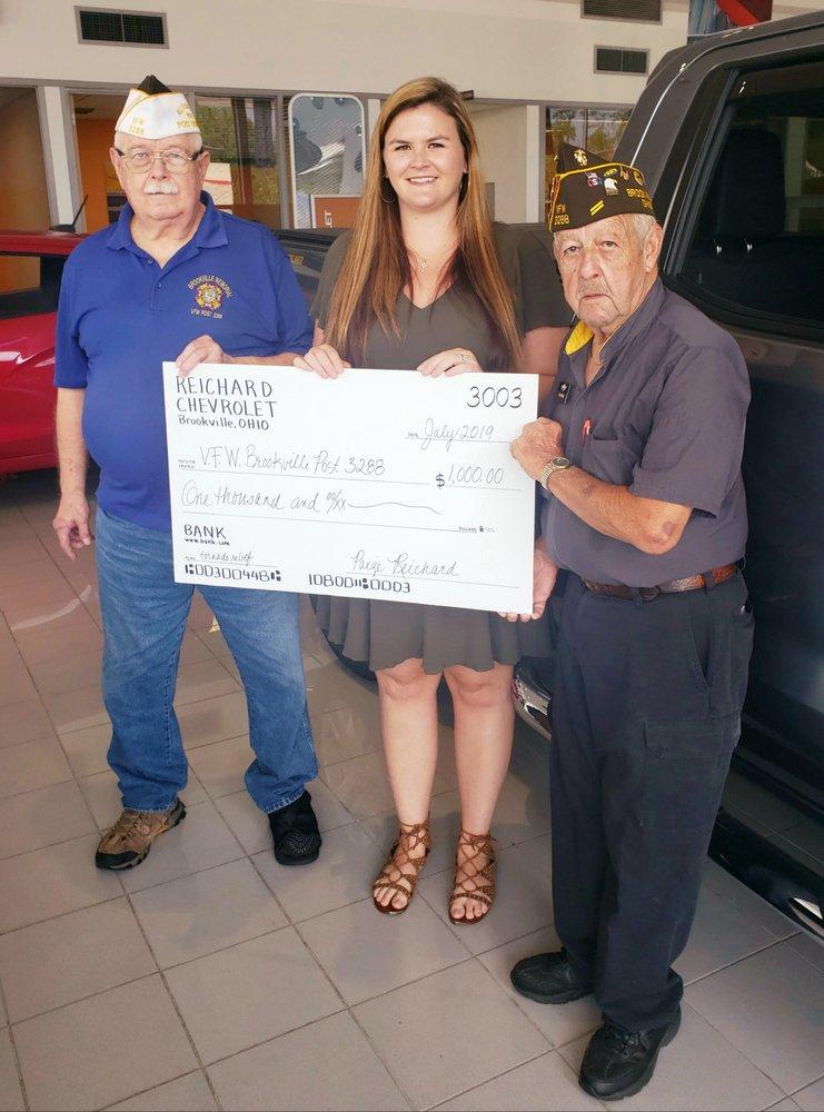Reichard Chevrolet: 575 Arlington Rd, Brookville, OH