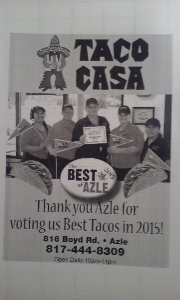 Taco Casa: 816 Boyd Rd, Azle, TX