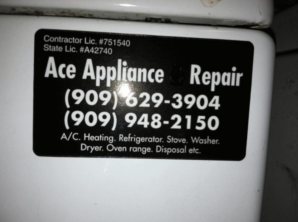 Ace Appliance Repair Service 77 Reviews Home Services