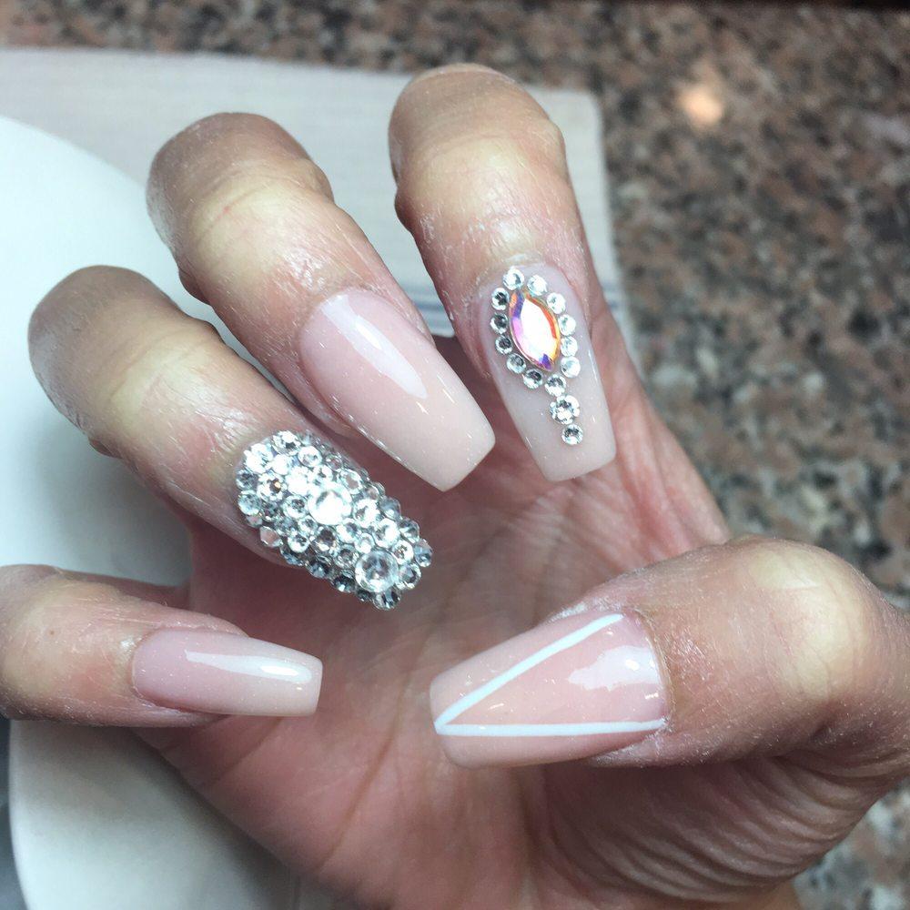 $42 pink powder & crystals - Yelp