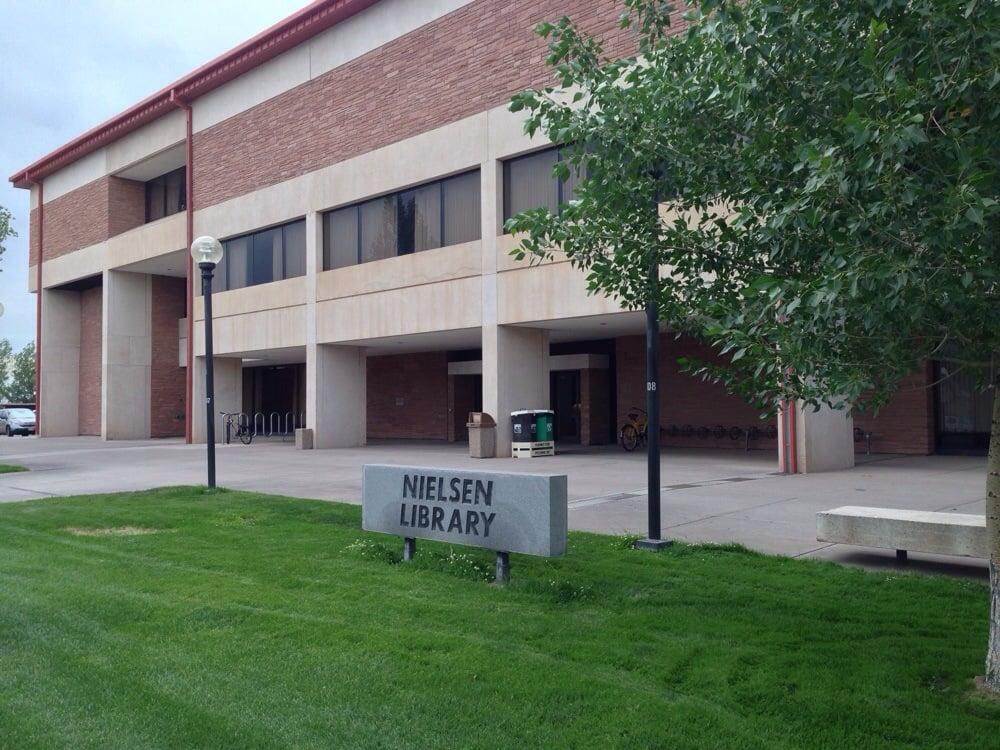 Nielsen Library: 208 Edgemont Blvd, Alamosa, CO