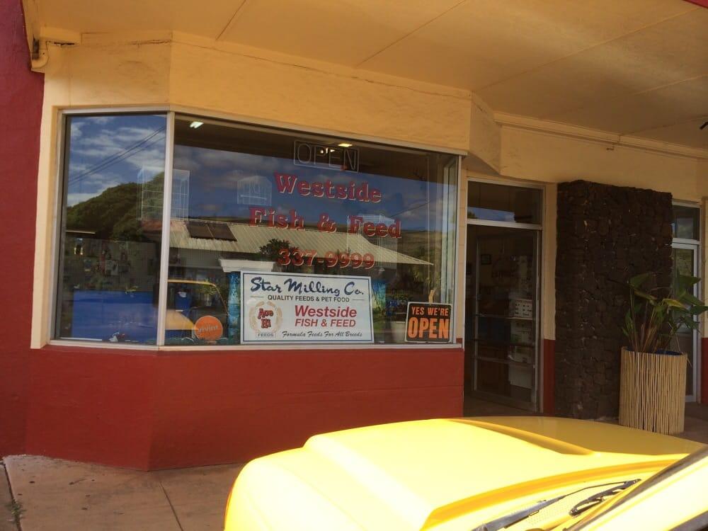 Westside Fish & Feed: 8222-8240 Kekaha Rd, Kekaha, HI