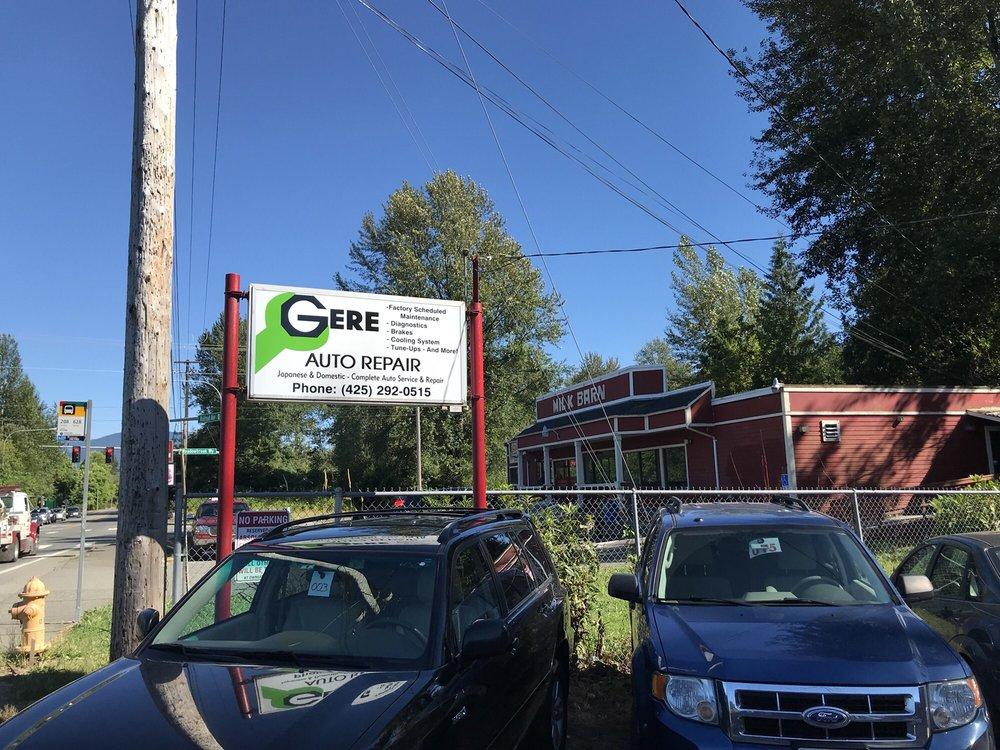 Gere Auto Repair: 9065 Railroad Ave, Snoqualmie, WA