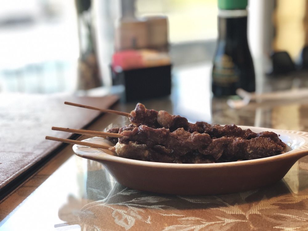 Food from Wahaha Cafe