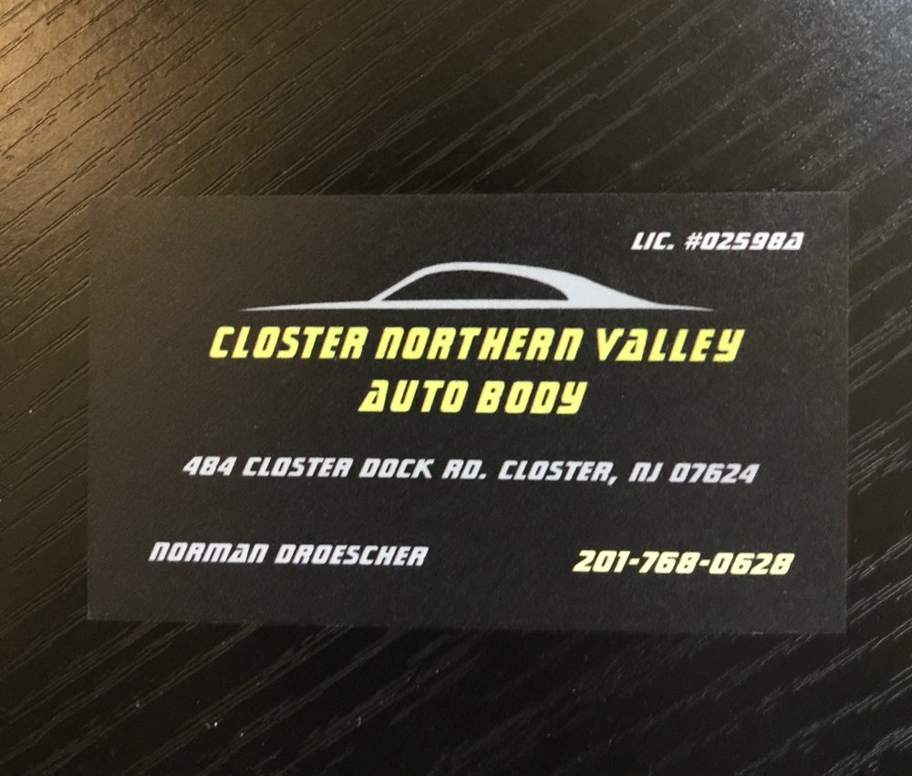 Closter Northern Valley Auto Body: 484 Closter Dock Rd, Closter, NJ