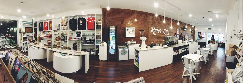 River City Coffee + Goods: 223 Main St, Evansville, IN