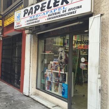 Papeler a mercapapel material de oficina carrer de l for Material oficina valencia