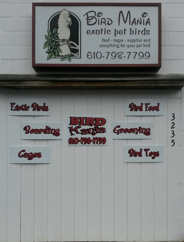 Bird Mania: 2733 W Emaus Ave, Allentown, PA