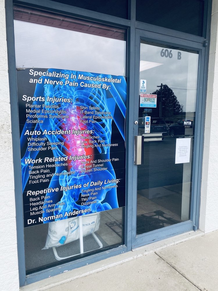 Andersen Chiropractic Health: 606 N Country Fair Dr, Champaign, IL