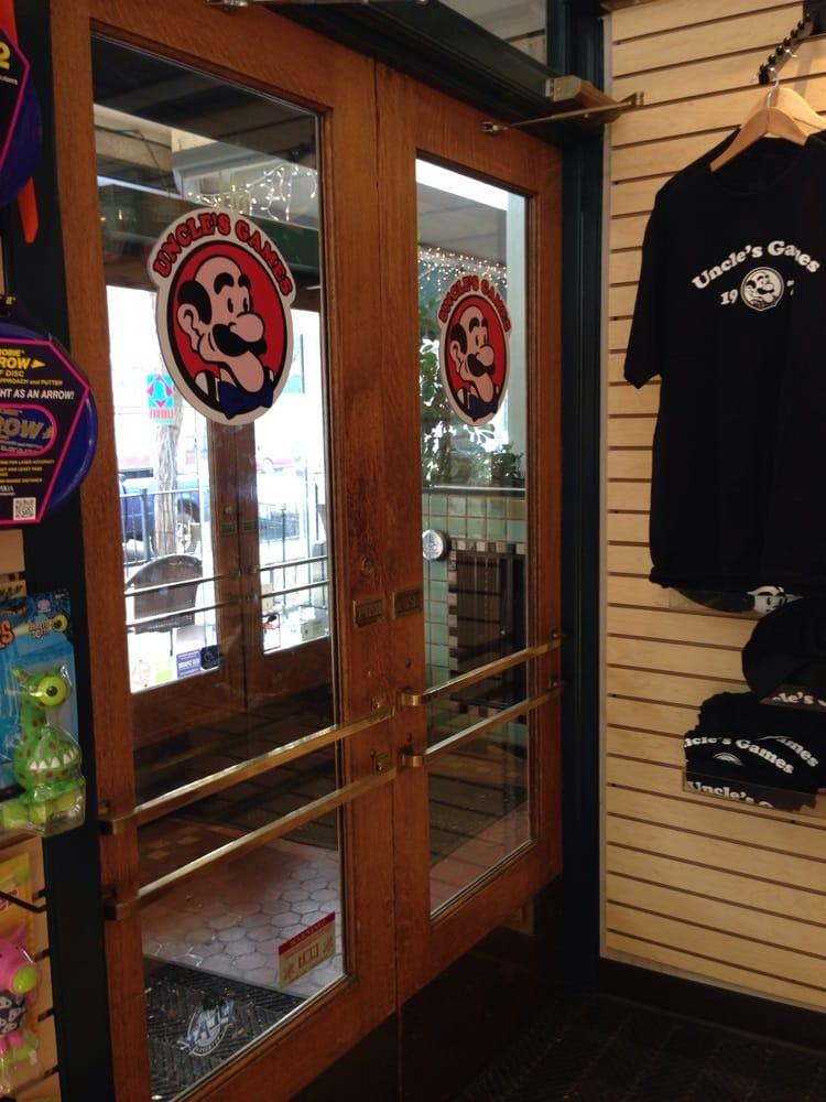 Uncle's Games: 404 W Main Ave, Spokane, WA