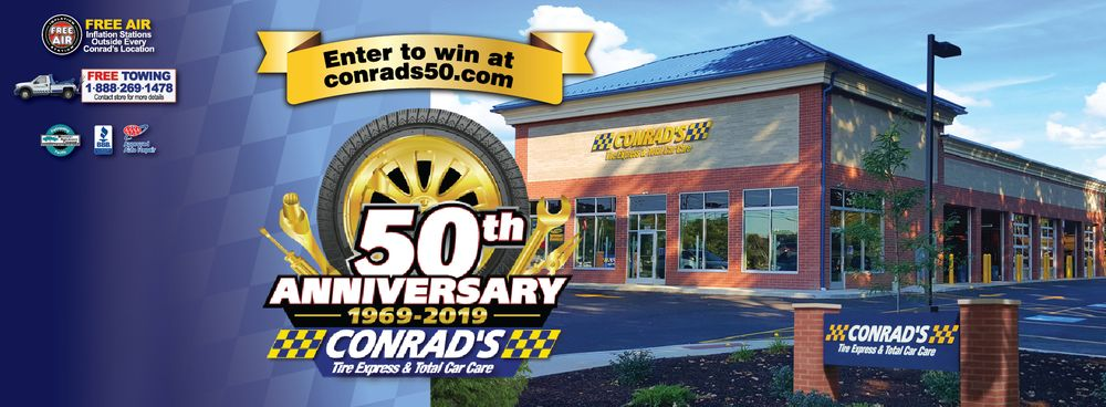 Conrad's Tire Express & Total Car Care: 4813 Liberty Ave, Vermilion, OH