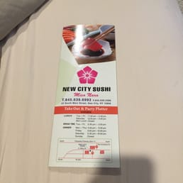 New City Sushi - New City, NY, United States. Menu