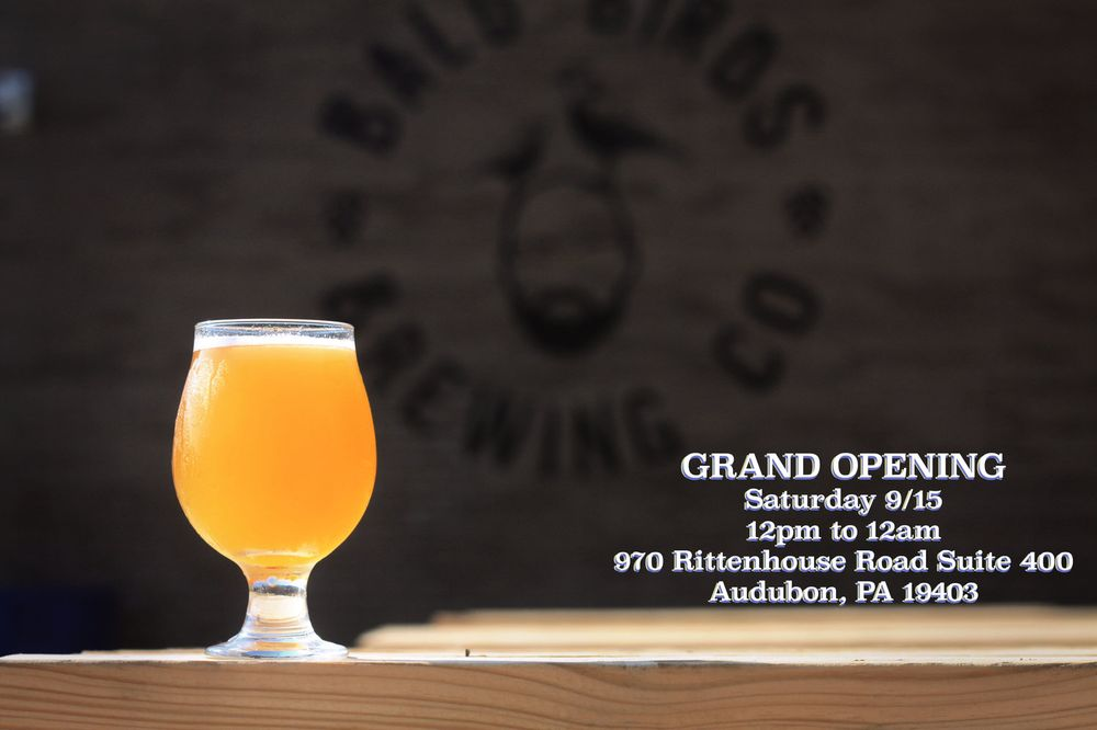 Bald Birds Brewing Company: 970 Rittenhouse Rd, Eagleville, PA