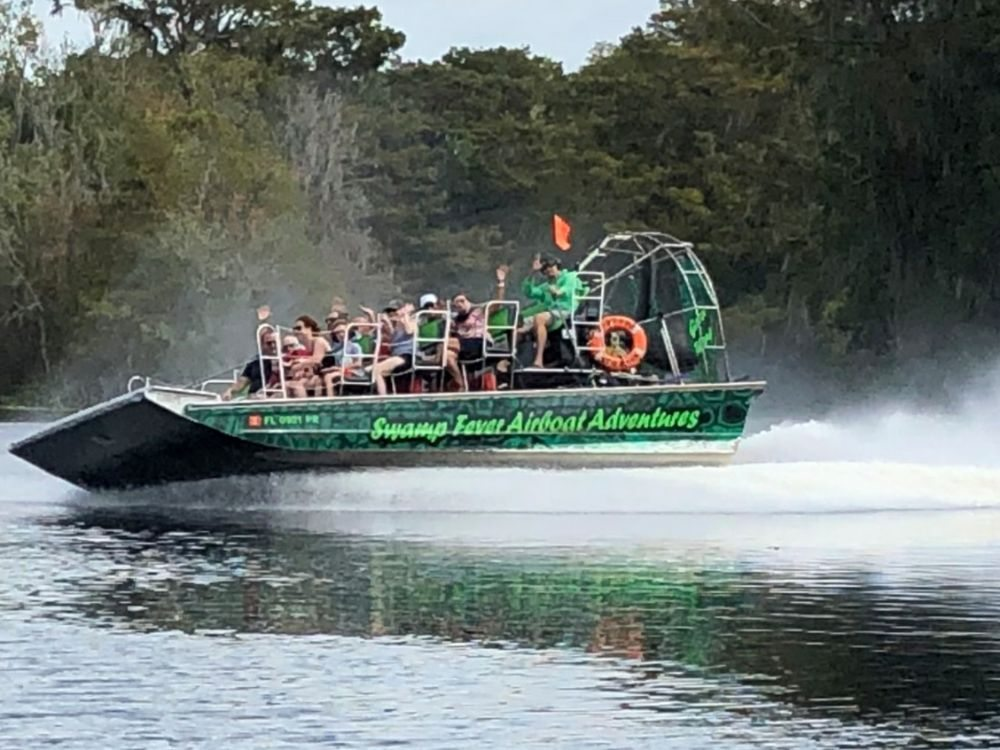 Swamp Fever Airboat Adventures: 4110 NW 42nd Pl, Lake Panasoffkee, FL