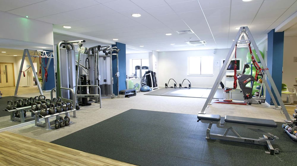 Nuffield health fitness wellbeing gym gyms hayes