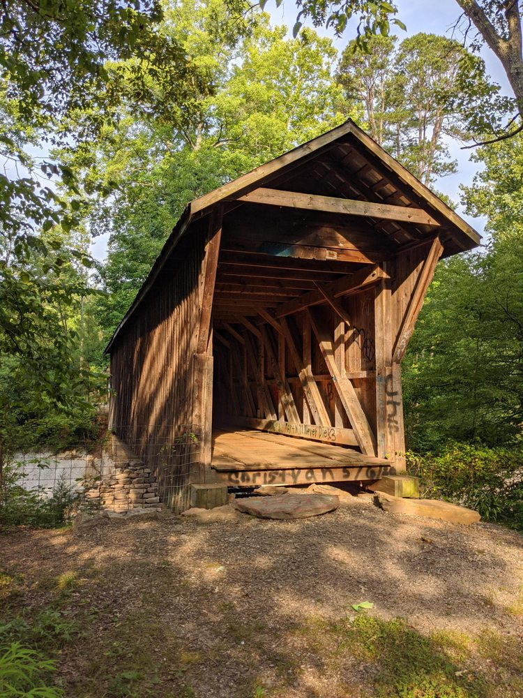 Bunker Hill Covered Bridge: 4180 E US Hwy 70, Claremont, NC