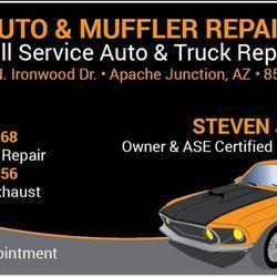 A Auto Muffler Repair Reviews Auto Repair N Ironwood - Apache junction car show
