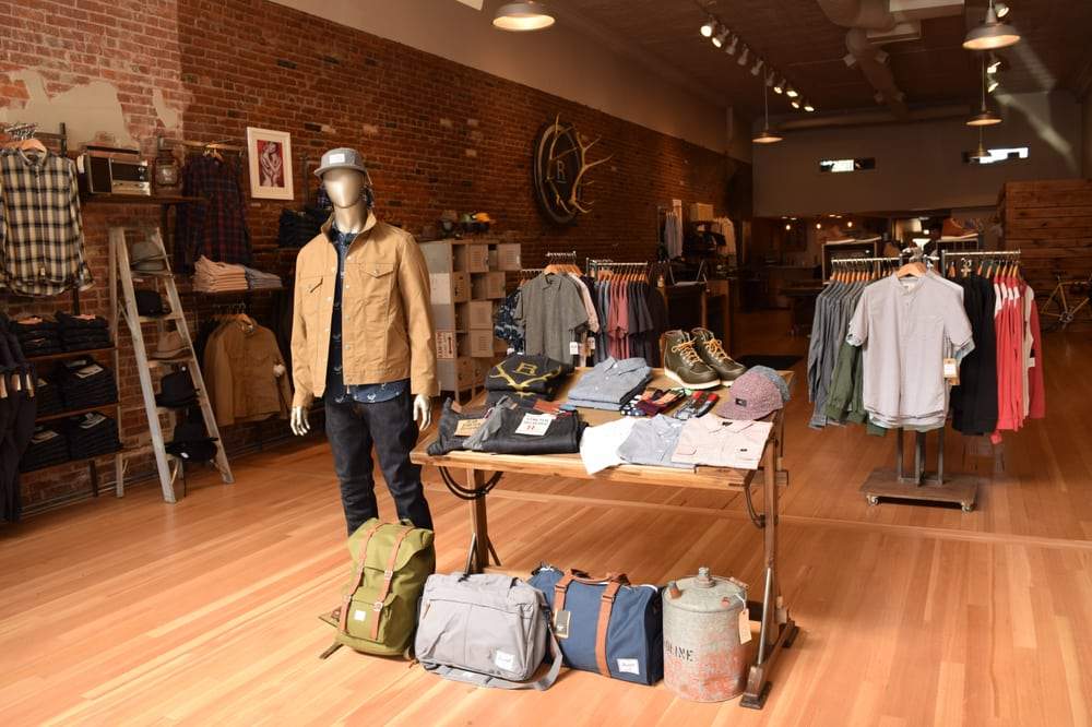 REVOLVR Menswear: 945 NW Wall St, Bend, OR