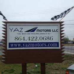 Yazmotors, LLC - Car Dealers - 1097 W Butler Rd, Greenville, SC - Phone Number - Last Updated February 1, 2019 - Yelp