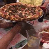 Photo Of Mama S Italian Restaurant Englewood Fl United States Pizza