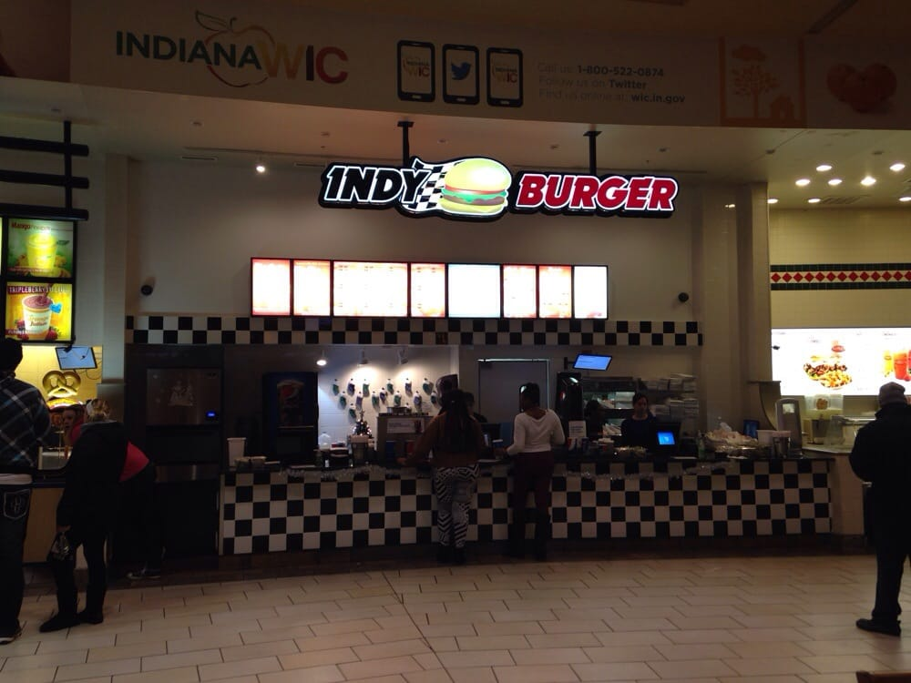 Mall Food Court Restaurants