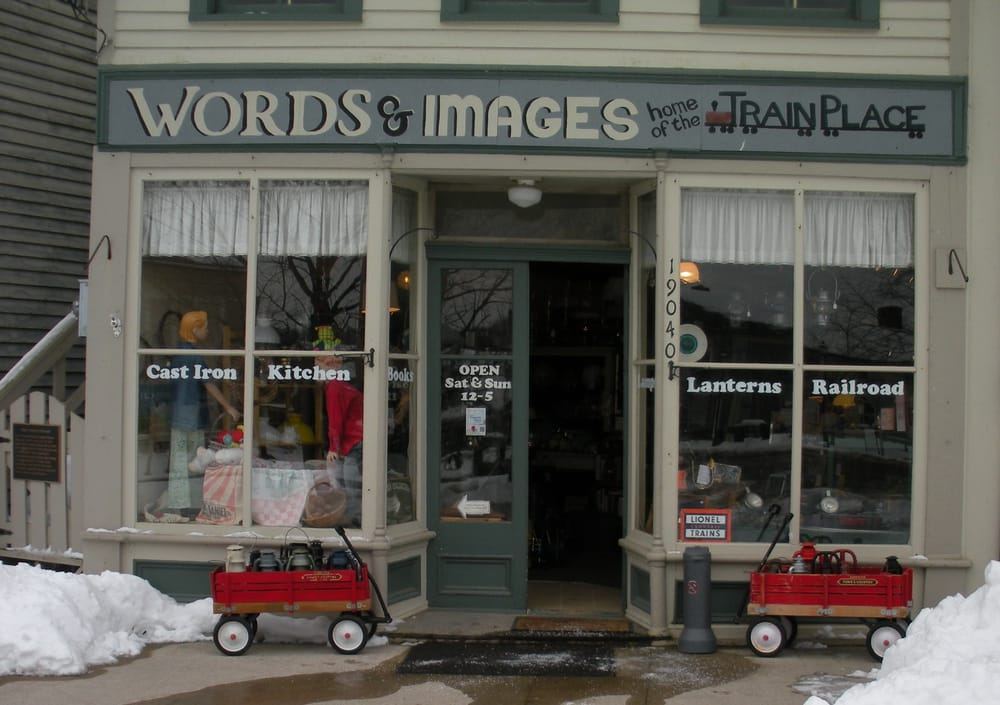 Words & Images The Train Place: 19050 S Main St, Metamora, IN
