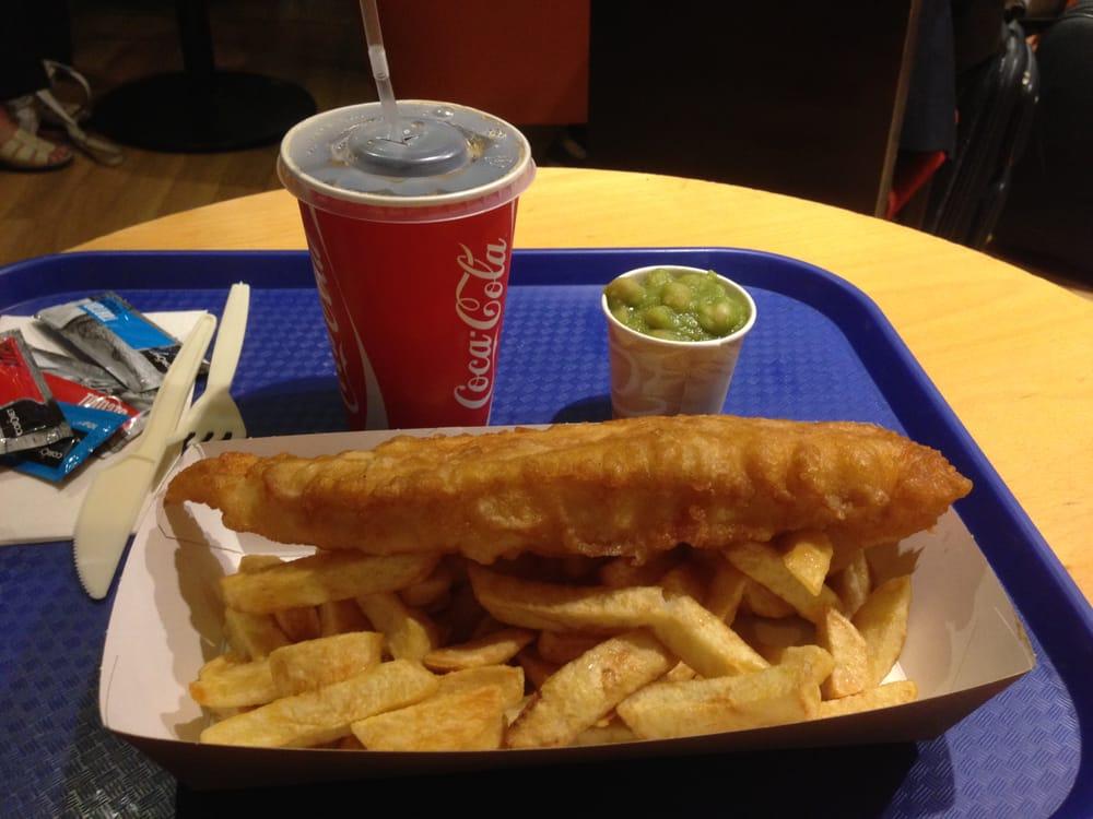 Harry ramsden s fish chips euston station euston for Fish chips restaurant