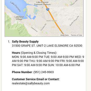 Sally Beauty Supply Cosmetics Beauty Supply 31500 Grape St