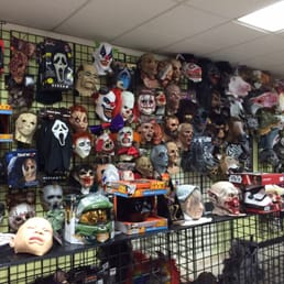 photo of halloween club tustin ca united states lots of masks