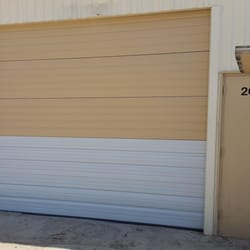 Photo Of On Track Garage Doors   Rhome, TX, United States. Commercial  Sections