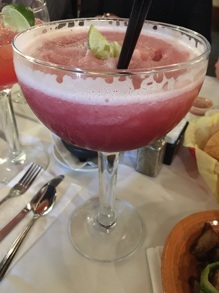 Frozen pomegranate margarita! Texas size  - Yelp