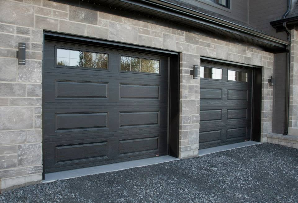 for door doors adams your systems garage accessories modern brown