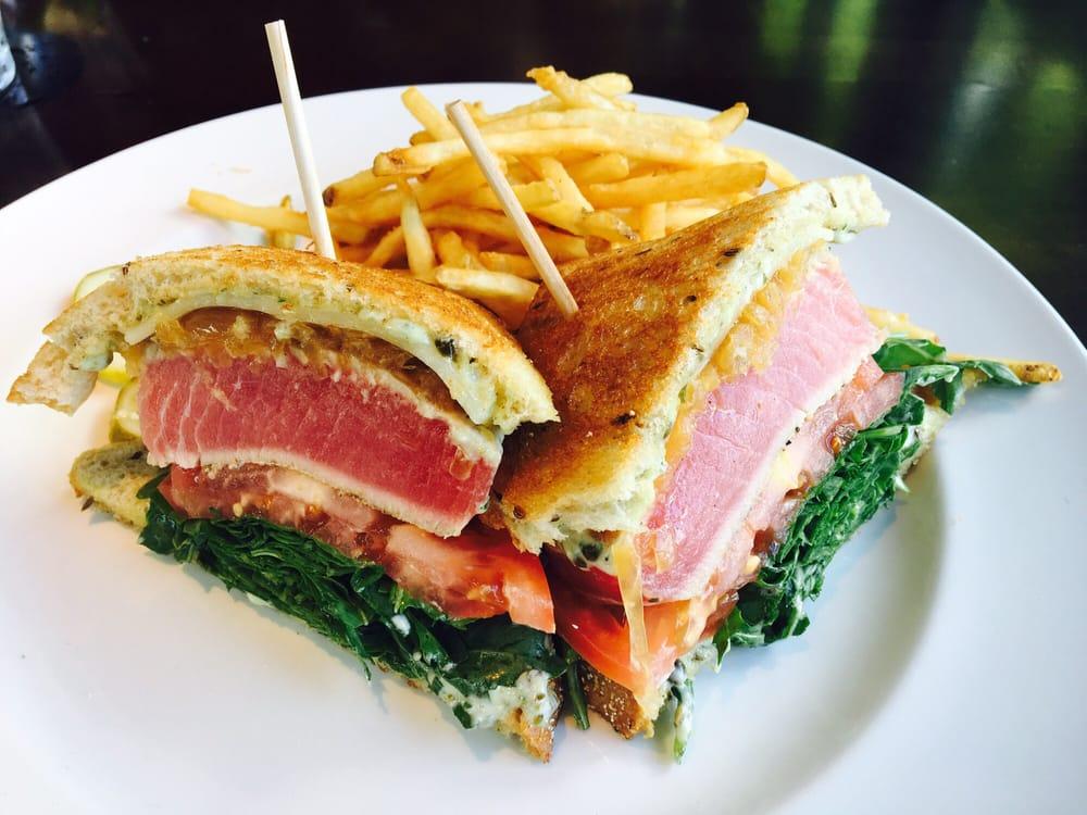 Seared Ahi Tuna Sandwich On Rye Yelp