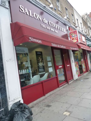 Salon de Coiffure - Hairdressers - 363 Mile End Road, Mile End ...