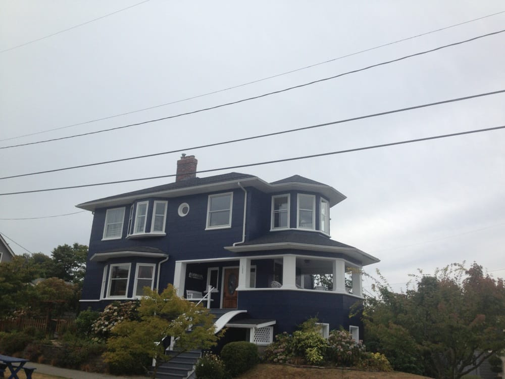 New Pabco Antique Black Roof And Sherwin Williams Paint