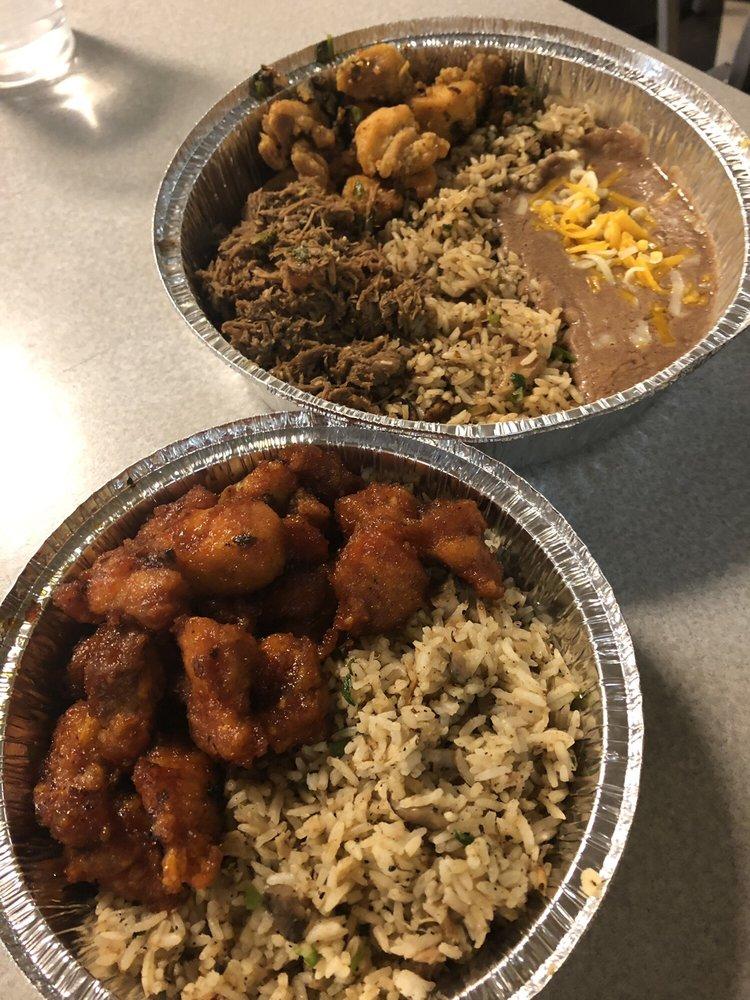 Food from Chino Bandido