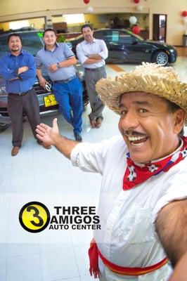 Three Amigos Auto Center 301 Mitchell Rd Modesto Ca Auto Repair