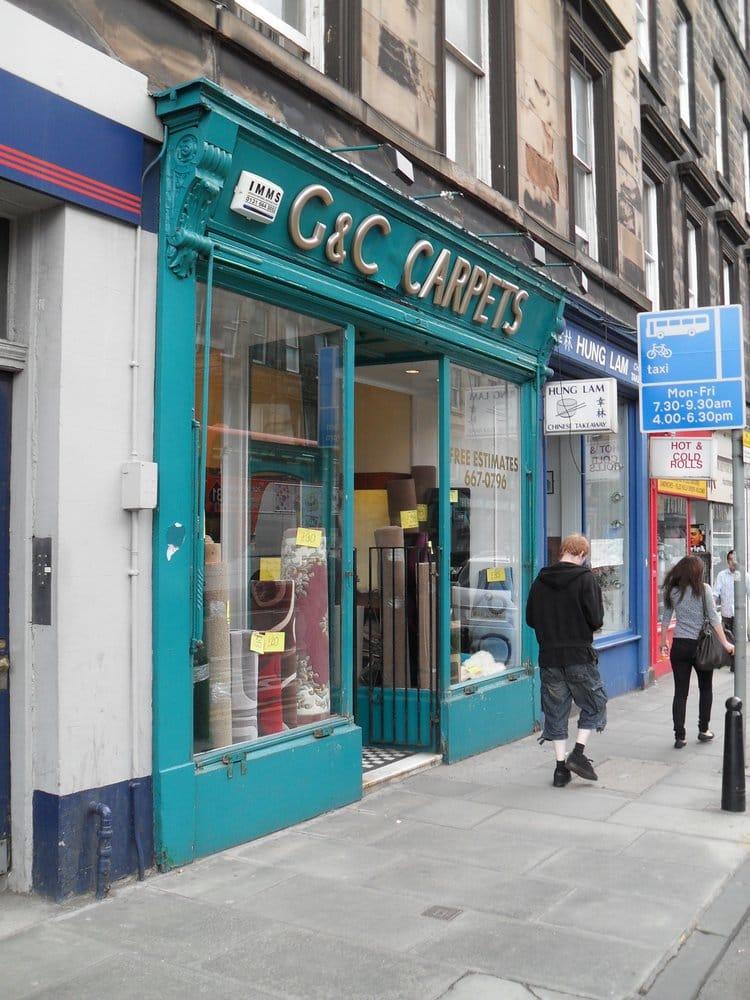 G c carpets casa y jard n 98 south clerk street for Telefono casa jardin