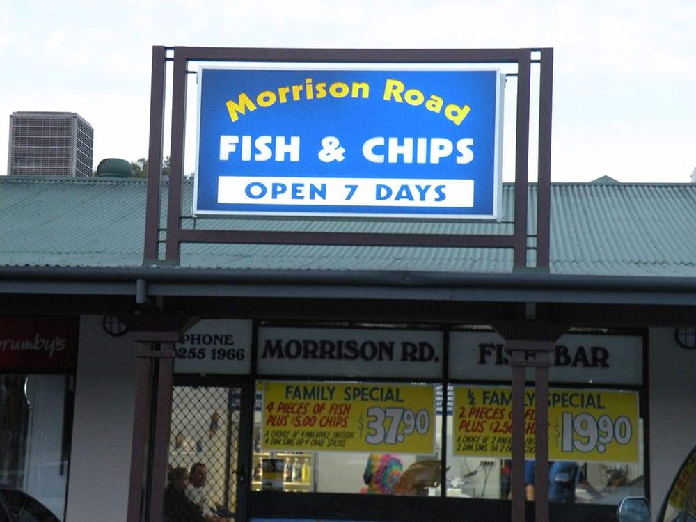 Morrison Road Fish Bar: Darling Ridge Shopping Centre, Swan View, WA