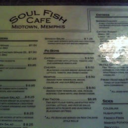photos for soul fish cafe menu yelp